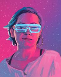 March 26 2017 Self Portrait by stevie-rae-drawn