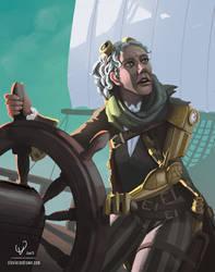 Captain Hosanna Cohen by stevie-rae-drawn