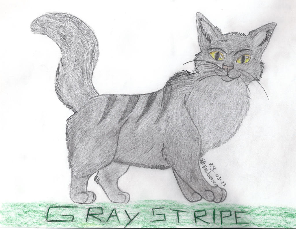 Pasen :D Cadeau-topic :D Graystripe_by_rebelwolf13570-d5zscno