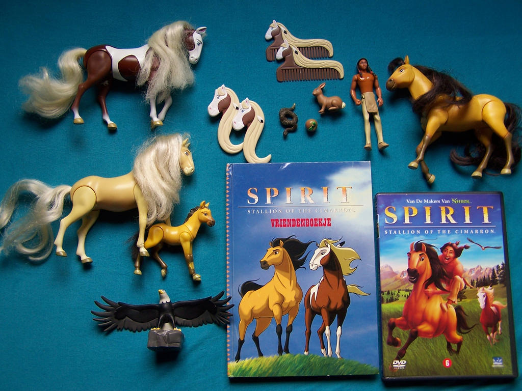 Spirit Stallion Of The Cimarron Collection By Rebelwolf13570 On