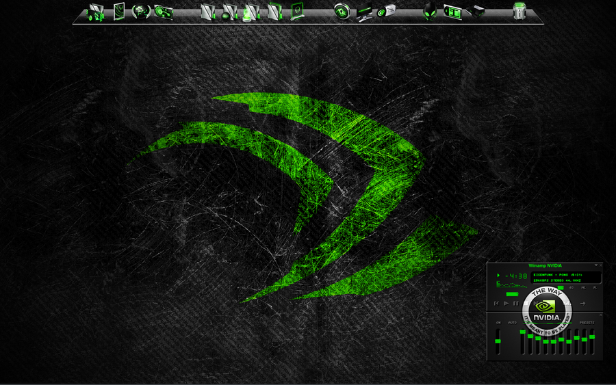My Desktop Totally Nvidia by vdk84
