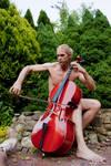 Cello in the Garden 3