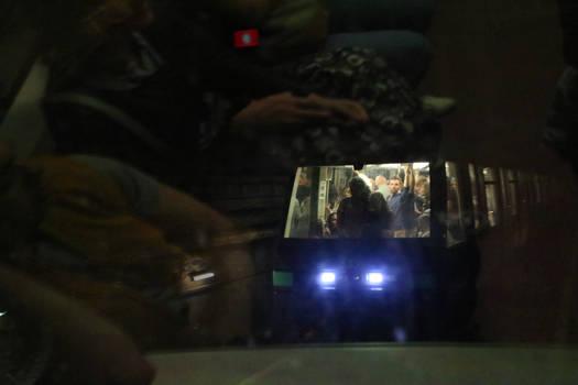 Oncoming Train - 2014 - Paris Metro 2