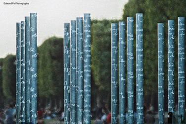 Peace Columns Paris France