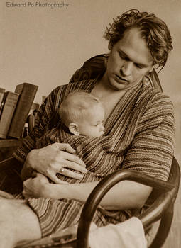 Edward and Baby Thatcher 1972