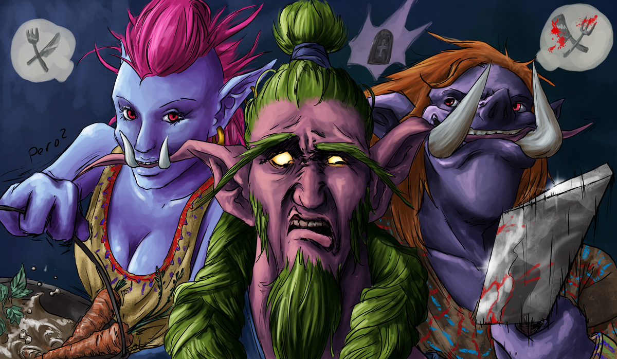 Trolls like Nelfs by VilePero