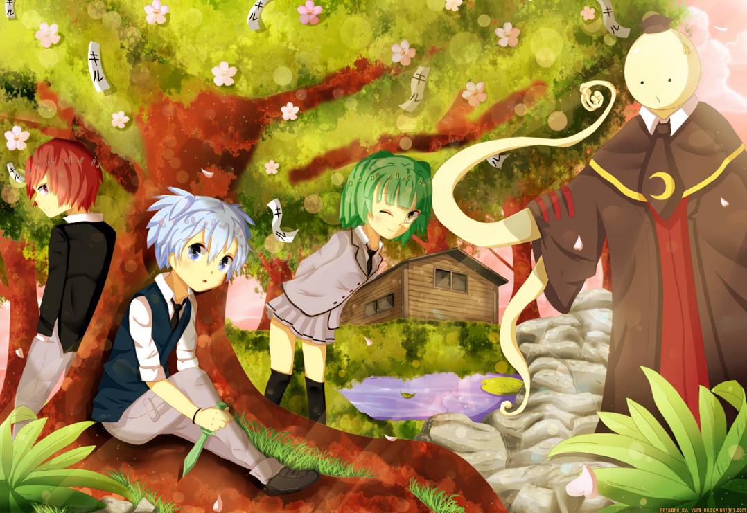 The wish Tree by Yumi-Nii