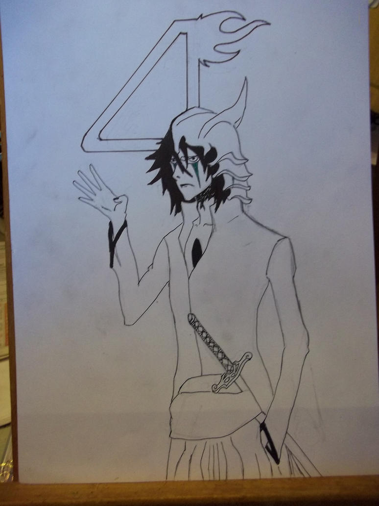ulquiorra for ssjbankai :D by mightyplue