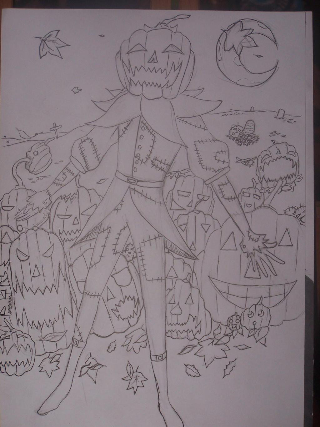 jack o lantern by mightyplue