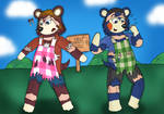 (COM) New Sisters! - Animal Crossing TF TG by SparkBolt3020