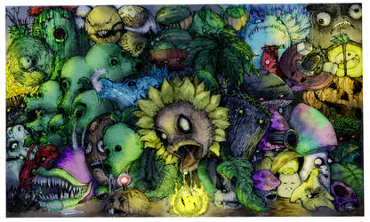 zOMBofiED pLaNts colored by McMuth