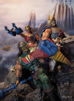 MOTUC - FFM - Long live King He-Man
