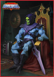 MOTU - Skeletor - Lord of destruction! by McMuth