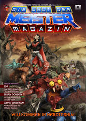 Die Welt der Meister Magazin - Cover no.8 by McMuth