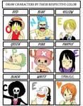 One Piece : Color Meme