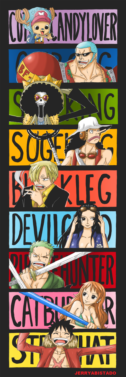 One Piece : Epithet by JERRYABISTADO