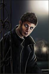vampire Jensen by Anarda2