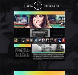 Layout Lea Michele