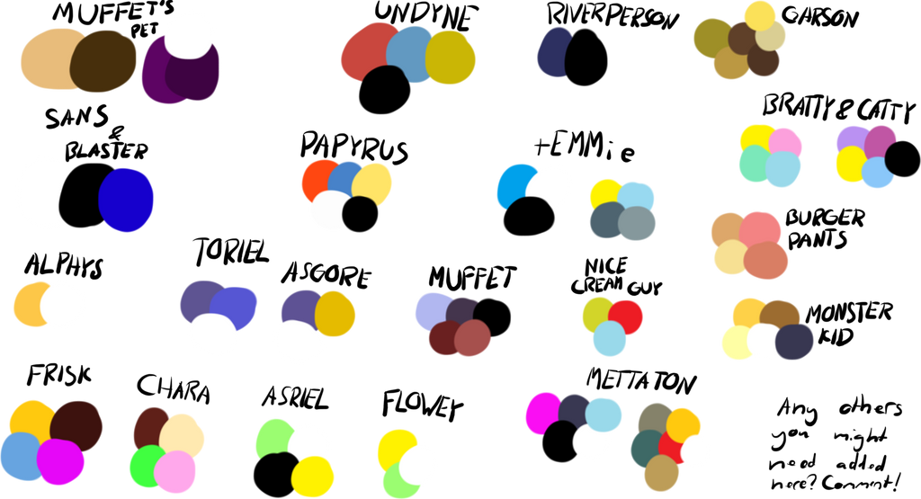 All Undertale Soul Colors Related Keywords – Dibujos Para Colorear