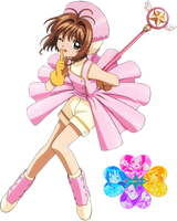Card Captor Sakura Render by Okumura-Natsu