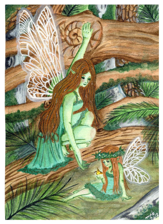 The Green Fairy by Azalane