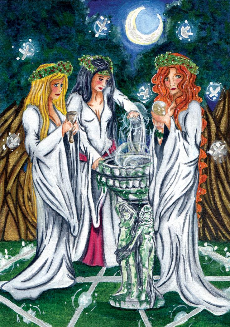 Wiccan Sabbath by Azalane