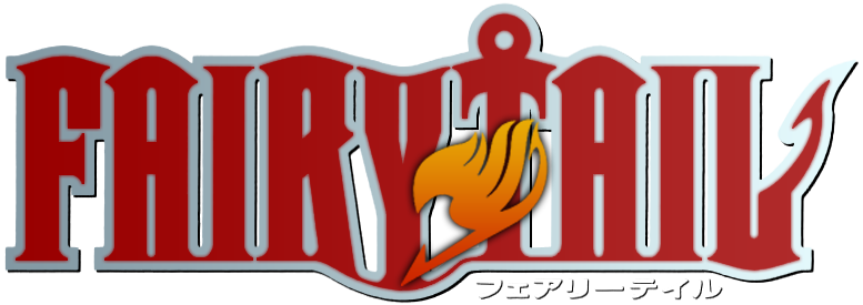 Fairy Tail Logo Gray Fairy Tail Logo Red by