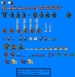 Extra Combat Sprites by Ch4dStar