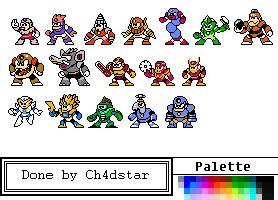 Dropped Ideas of Mega Man 2 (WIP) by Ch4dStar