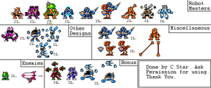 Time Tangent Sprites (My Style)