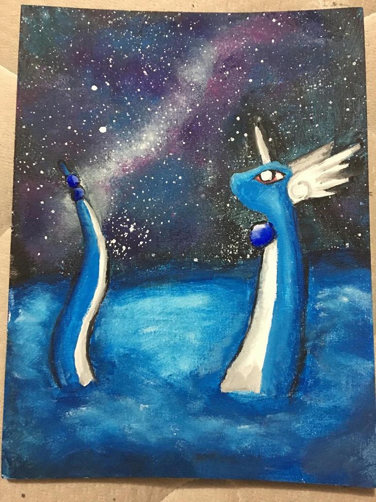 Dragonair Gazing by TyTheNaught