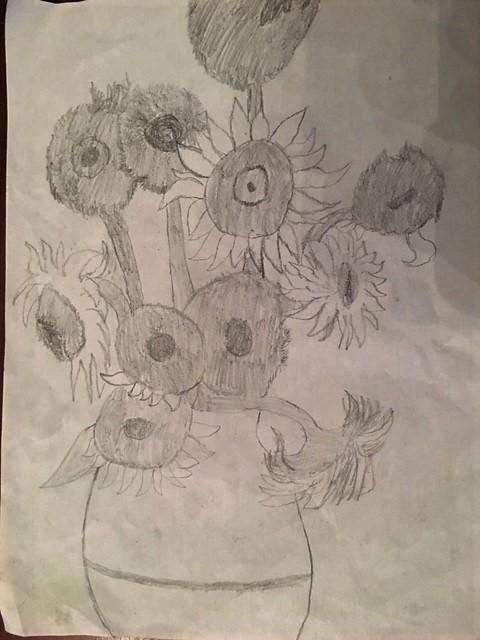 My Sunflowers version by Dracorider19