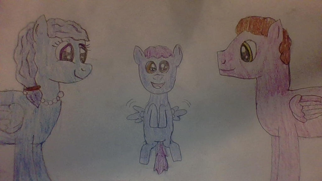 Plasma Blaze and his parents. by Dracorider19