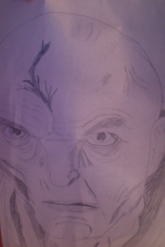 Snoke drawing 2 by Dracorider19