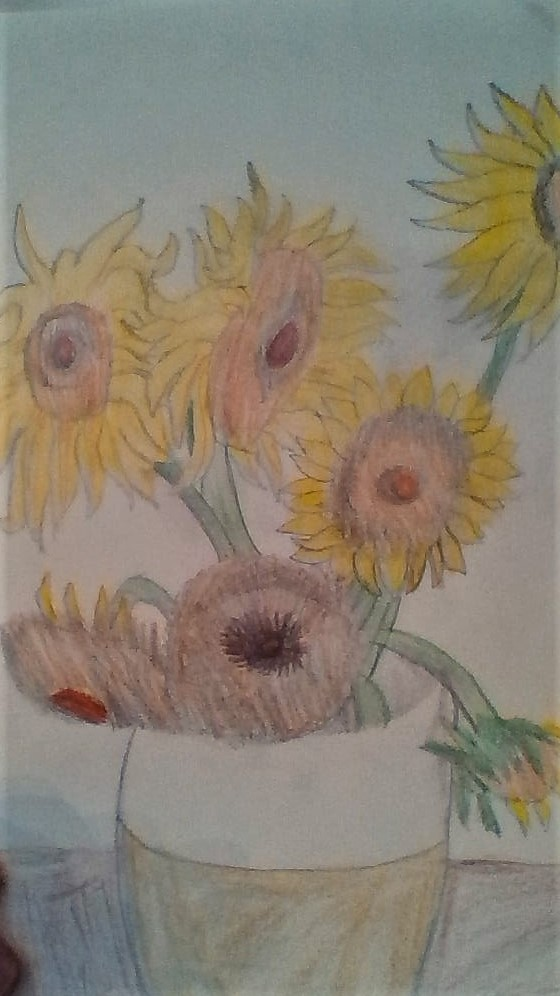 My Sunflowers version 2 by Dracorider19