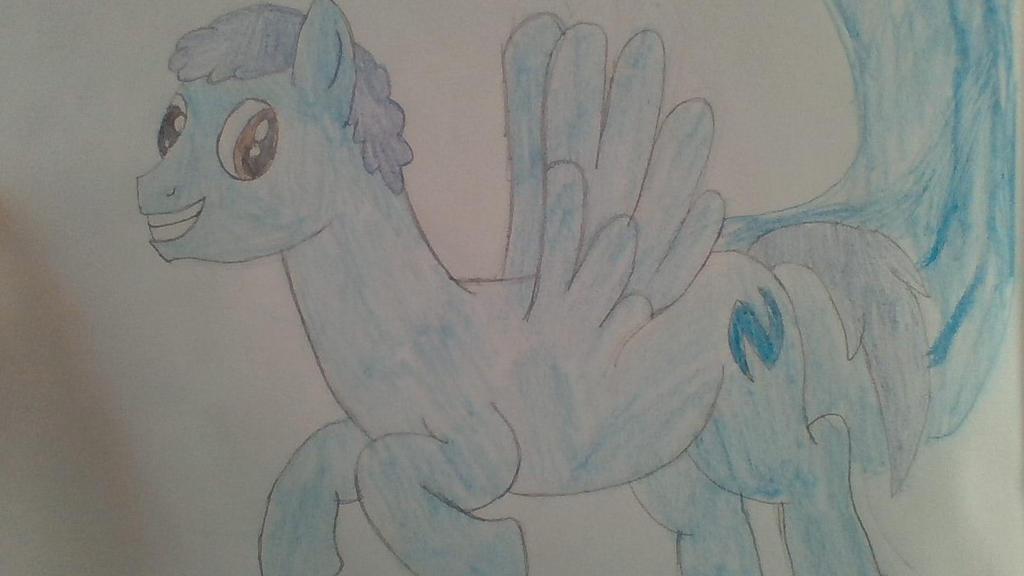 Plasma Blaze's epic pose! by Dracorider19