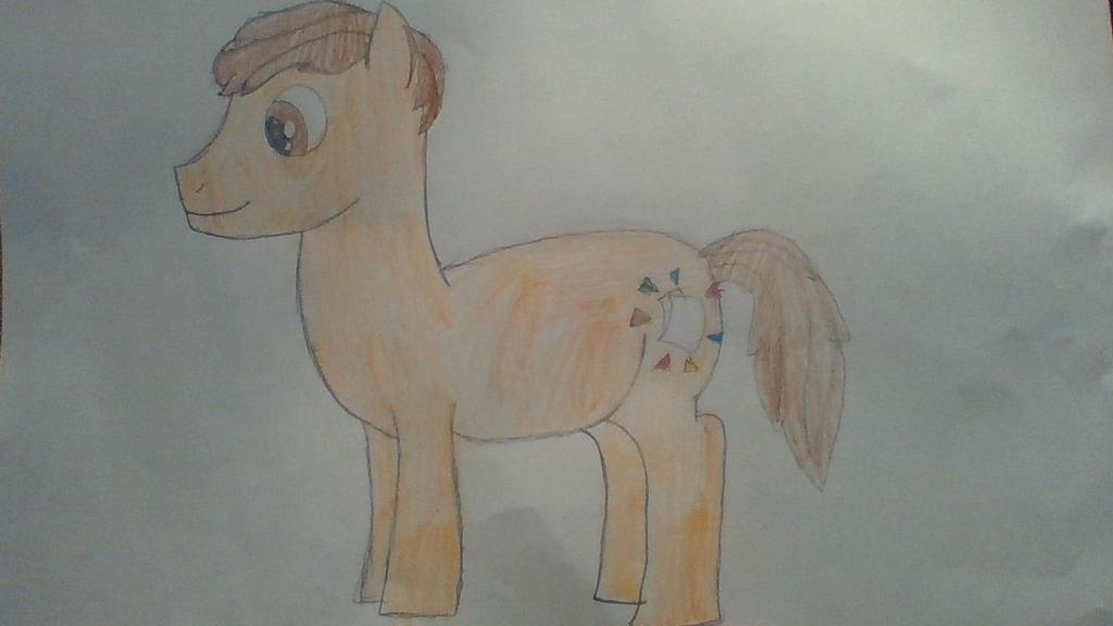 My pony form by Dracorider19