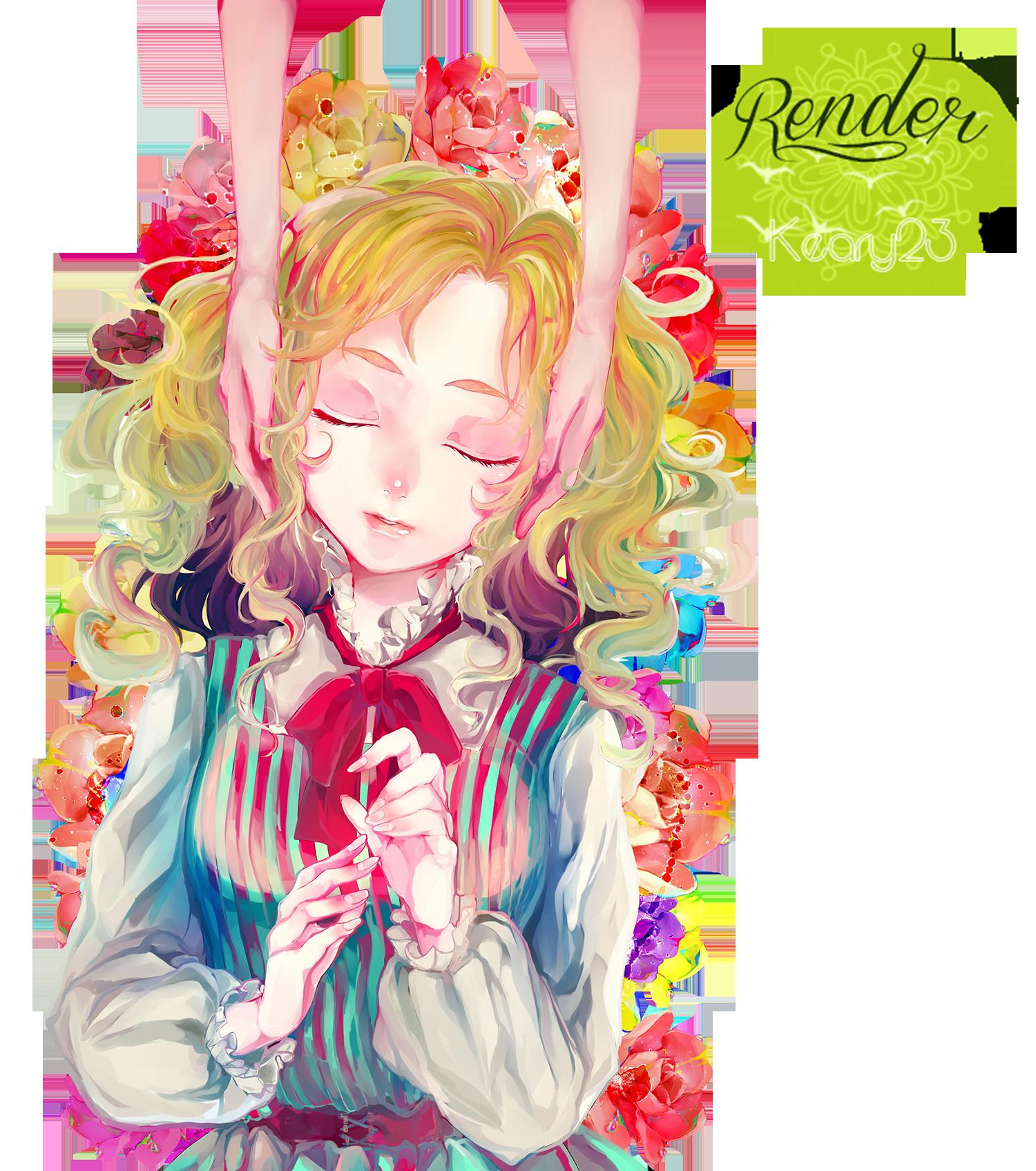 Render 14 - Girl.