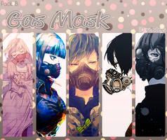 Pack 8 - Gas Mask - 10 renders. by Keary23