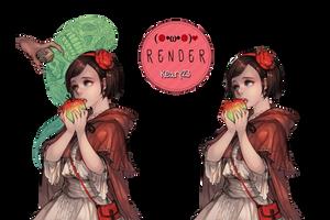Render 42 - Cute girl by Keary23