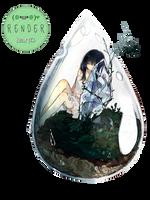 Render 45 - Girl by Keary23