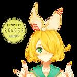 Render 55 - Rin {Vocaloid}
