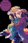 Render 66 - Gambit x Rogue. (X-Men) by Keary23