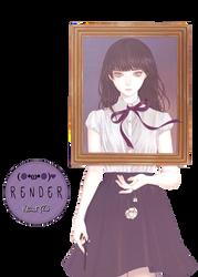 Render 68 - Beautiful girl