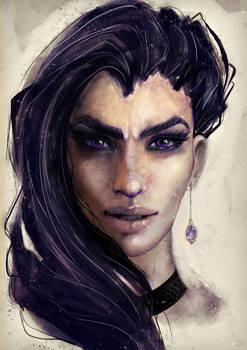 Witcher fanart: Yennefer