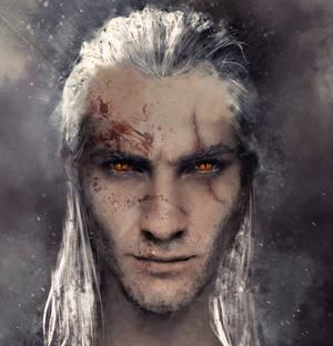 Witcher fanart: Geralt