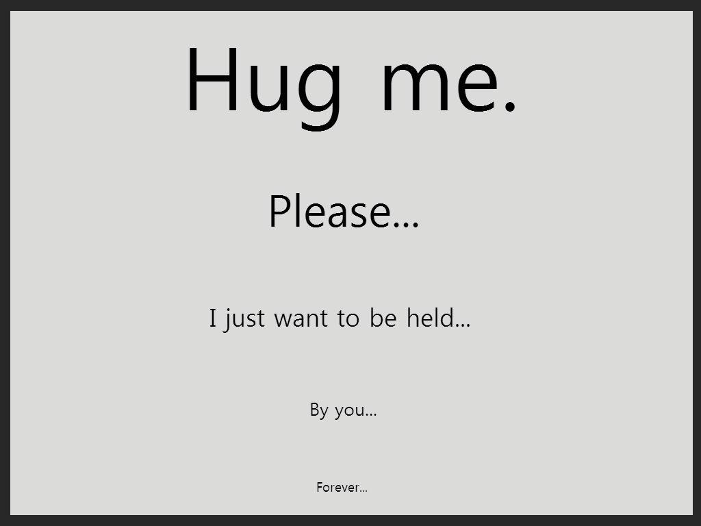 Hug Me. by howcouldyoudothat