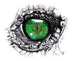 Eye crocodile
