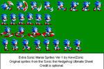 Extra Sonic Mania Sprites Ver. 1