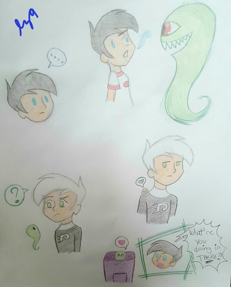 Ghastly Doodles by lunazeta9